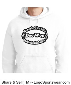 White Hoody Alt Logo Design Zoom
